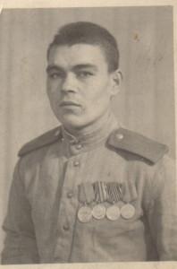 Алтухов Михаил Николаевич. Австрия. 1946 год.